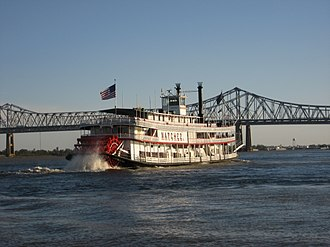 Natchez (boat) - The SS Natchez in New Orleans