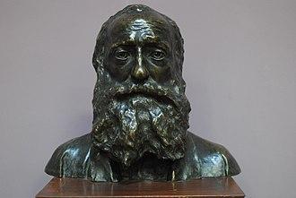 Ghevont Alishan - bust by Andreas Ter-Marukian