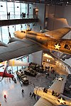 National WWII Museum Dec 2015 - Planes from above.jpg