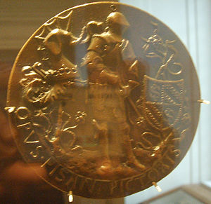 Pandolfo III Malatesta - Medal of Pandolfo Malatesta (versus), Pisanello, National Gallery of Art, Washington D.C.