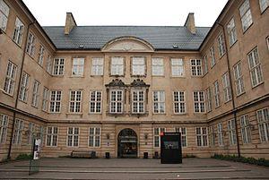 Ny Vestergade - National Museum's main entrance