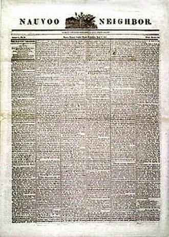 Nauvoo Neighbor - An edition of the Nauvoo Neighbor