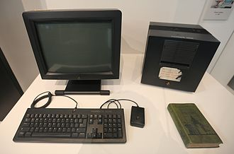 World Wide Web - The NeXT Computer used by Tim Berners-Lee at CERN.
