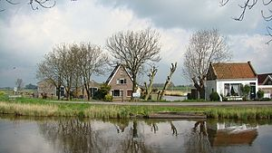 Neck, Netherlands - Image: Neck, dorp in de gemeente Wormerland, Noord Holland, Nederland (2008)