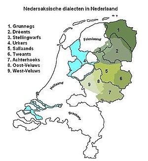 Dutch Low Saxon - Dutch Low Saxon dialects