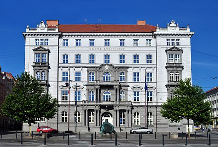 Seat of the Supreme Administrative Court of the Czech Republic in Brno Nejvyssi spravni soud CR I.jpg