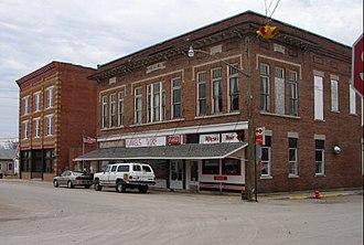 New Richmond, Indiana - Image: New richmond downtown
