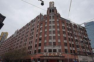 New Asia Hotel (Shanghai) building in Shanghai, China