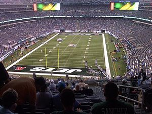 New York Jets - An inside view of MetLife Stadium during the first-ever preseason matchup between the Giants and Jets