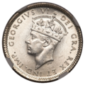 Newfoundland George VI 10 Cents 1941C (obv) transparent background.png