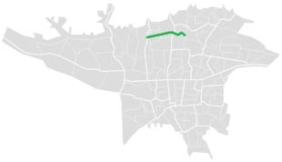 Niayesh Expressway map.png