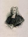 Nicholas Saunderson (Sanderson). Line engraving by J. McGahe Wellcome V0005226ER.jpg