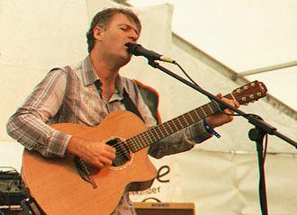 Nick Harper - Nick Harper performing at the De Montfort Hall Summer Sundae