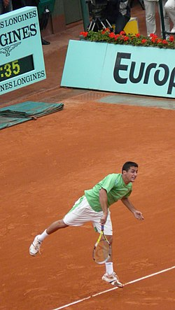 Nicolás Almagro at the 2008 French Open 1.jpg