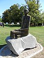 Nicolae Titulescu Statue.JPG