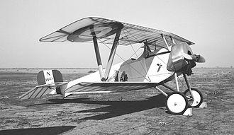 Le Rhône 9J - The Addems-Pfeifer Nieuport 11 replica pictured at Porterville, CA in 1962.