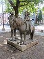 Nijmegen - Sculptuur Ponyrijden van Pieter d'Hont.jpg