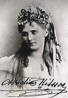 Christina Nilsson Swedish soprano