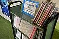 Nishio City Kira Library magazine corner ac.jpg