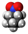 Nitrocyclohexane molecule spacefill.png