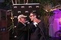 Norman Jewison and Don McKellar at the 2016 CFC in L.A. event. (48198965312).jpg