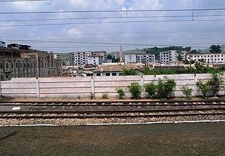 Ryongchon Station Railway Station in North Korea