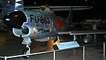 North American F-86D Sabre Dog, National Museum of the US Air Force, Dayton, Ohio, USA. (32562455698).jpg