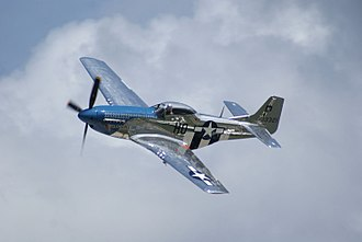 George Preddy - Restored P-51 Mustang Cripes A Mighty 3rd