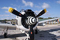 North American T-28C Trojan Sherry Berry NoseR TICO 13March2010 (14598875142).jpg