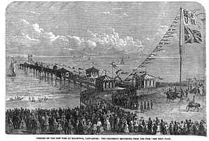 North Pier, Blackpool - The North Pier's opening ceremony