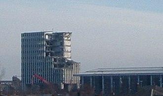 Partnership House - Image: Northern Rock 2006 Demolishion