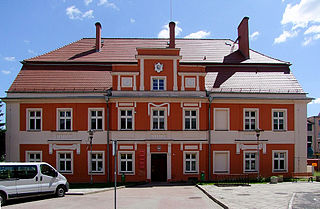 Nowogrodziec Place in Lower Silesian Voivodeship, Poland