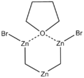 Structural formula of the Nysted reagent