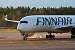 OH-LWD Finnair A350 @ HEL (34630321076).jpg