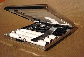 Cigarette case - Aluminium cigarette case