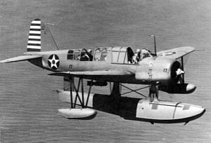 Vought OS2U Kingfisher - Image: OS2U 2 Kingfisher in flight 1942