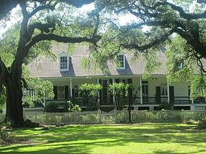 Oakland Plantation (Natchitoches, Louisiana) - Oakland Plantation House
