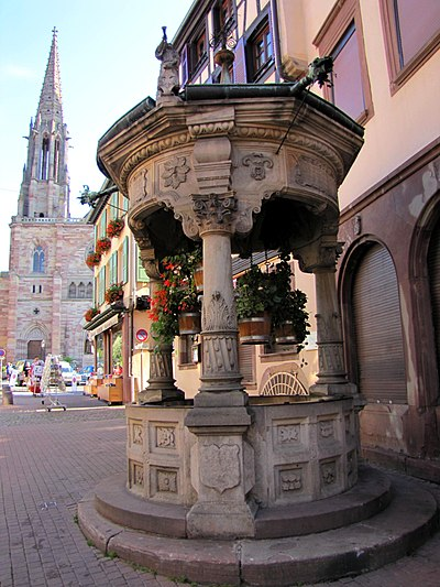Puits à six seaux (Obernai)