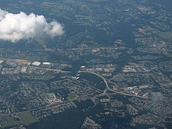 Aerial view of Ogletown