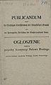 Ogloszenie krola pruskiego o przyszlej konstytucji Wielkiego Ksiestwa Poznanskiego s.1.jpg
