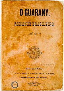 <i>The Guarani</i> novel by José de Alencar