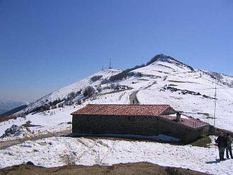 Oiz - Mount Oiz summit.