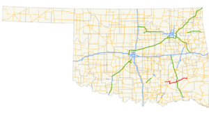Oklahoma State Highway 43