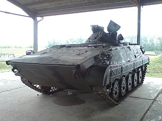 Siege of Bjelovar Barracks - Croatian forces acquired 77 JNA BVP M-80 IFVs from barracks in Bjelovar.