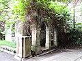 Old British Military Hospital, Gatehouse& Gate Pillars.JPG