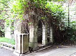 Old British Military Hospital, Gatehouse& Gate Pillars.JPG