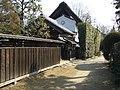Old Main Gate of the Ando Family (旧安藤家住宅表門) and Old Storehouse of the Akiyama Family (旧秋山家住宅土蔵) in Jidayubori Park's Old Farmhouse Garden (次大夫堀公園民家園) - panoramio.jpg