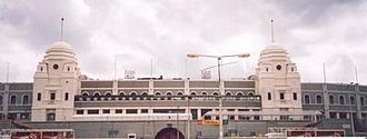 1987 FA Cup Final - Image: Old Wembley Stadium (external view)