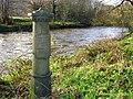 Old boundary post near Newforge Lane, Belfast - geograph.org.uk - 1136888.jpg