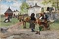 Olof Arborelius - Sunnuntai Flodan kirkolla Taalainmaassa - A I 730 - Finnish National Gallery.jpg